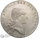 1 Talar - Friedrich August I – obverse
