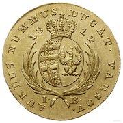 1 Dukat - Friedrich August I – reverse