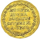 Dukat Siewierski (Private Issue Au) – reverse
