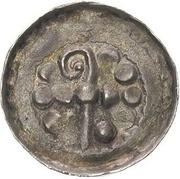 Denar krzyżowy - Bolesław II Śmiały (Kraków mint) – obverse