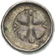 Denar krzyżowy - Bolesław II Śmiały (Kraków mint) – reverse