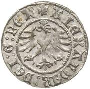Półgrosz koronny - Aleksander Jagiellończyk (Kraków mint) – obverse