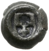 Brakteat elbląski - Kazimierz IV Jagiellończyk (Elbląg mint) – obverse