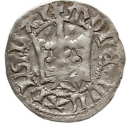 Półgrosz - Władysław II Jagiełło (Kraków mint) – obverse
