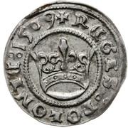 Półgrosz - Zygmunt I Stary (Kraków mint) – reverse