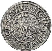 Grosz - Zygmunt I Stary as Prince of the Duchy of Głogów (Głogów mint) – obverse