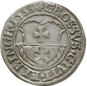 Grosz elbląski - Zygmunt I Stary (Elbląg mint) – reverse