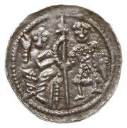 Denar - Bolesław III Krzywousty (Kraków mint) – obverse