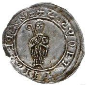 Brakteat protekcyjny - Bolesław III Krzywousty (Kraków or Gniezno mint) – obverse