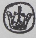 Denar - Wacław II Czeski (Kraków mint) – obverse