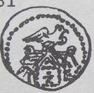 Denar - Bolesław kujawski or Leszek mazowiecko-kujawski (Kruszwica or Inowrocław or Płock mint) – reverse