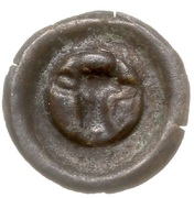 Brakteat - Mściwój II (Chojnice mint) -  reverse