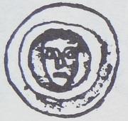 Brakteat - Mściwój II (Tczew mint) – obverse