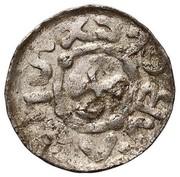 Denar - Bolesław II Śmiały (Wrocław mint) – obverse