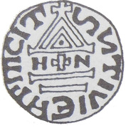 Denar - Bolesław Chrobry (unknown mint) – reverse