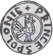 Denar Princes Polonie - Bolesław Chrobry (unknown mint) – obverse