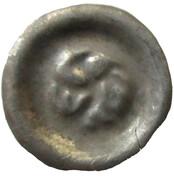 Brakteat - Władysław I Łokietek (Sandomierz mint) – reverse