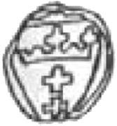 Denar gdański - Zygmunt I Stary (Gdańsk mint) – reverse