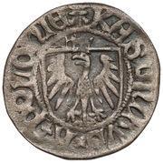 Szeląg gdański - Kazimierz IV Jagiellończyk (Gdańsk mint) – obverse