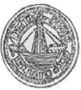 Półrosenobel gdański - Kazimierz IV Jagiellończyk (Gdańsk mint) – obverse