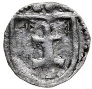 Denar wschowski - Jadwiga and Władysław Jagiełło (Wschowa mint) – reverse