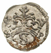 Denar koronny - Zygmunt I Stary (Kraków mint) – obverse