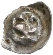 Brakteat toruński - Kazimierz IV Jagiellończyk (Toruń mint) – reverse
