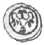 Halerz - Zygmunt I Stary as Prince of the Duchy of Głogów (Głogów mint) – obverse