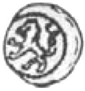 Halerz - Zygmunt I Stary as Prince of the Duchy of Głogów (Głogów mint) – reverse