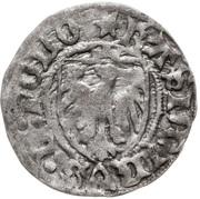Szeląg elbląski - Kazimierz IV Jagiellończyk (Elbląg mint) – obverse