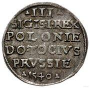Trojak / 3 Grosze - Zygmunt I Stary (Elbląg mint) – obverse