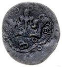 Puło ruskie / denar ruski - Władysław Opolczyk (Lwów mint) – reverse