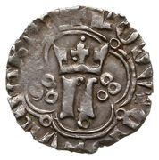 Kwartnik ruski - Ludwik Węgierski (Lwów mint) – obverse
