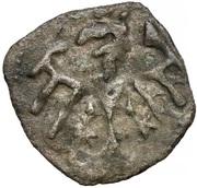 Denar - Władysław II Jagiełło (Kraków mint) – reverse