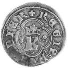 Kwartnik ruski - Kazimierz III Wielki (Lwów mint) – obverse