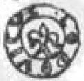Denar - Ludwik Węgierski (Kraków mint) – reverse
