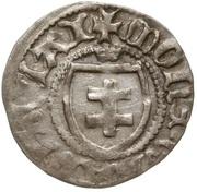 Trzeciak - Władysław II Jagiełło (Kraków mint) – obverse