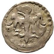 Denar - Władysław II Jagiełło (Poznań mint) – obverse