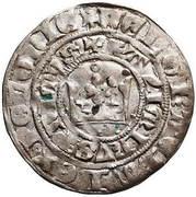 Grosz krakowski - Kazimierz III Wielki (Kraków mint) – obverse