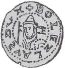 Brakteat - Bolesław V Wstydliwy or Bolesław Pobożny (Kraków or Poznań mint) – obverse