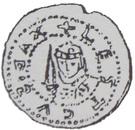 Brakteat - Leszek Czarny (Kraków mint) – obverse