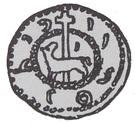Brakteat - Bolesław Mieszkowic (Kruszwica or Inowrocław mint) – obverse