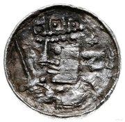 Denar - Bolesław II Śmiały (Kraków mint) – obverse