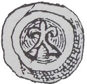 Brakteat - Świętopełk II Wielki (Gdańsk mint) -  obverse