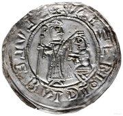 Brakteat protekcyjny - Bolesław III Krzywousty (Kraków mint) – reverse