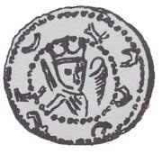 Brakteat - Mieszko III Stary (Gniezno or Kalisz mint) -  obverse