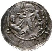 Denar - Władysław II Wygnaniec (Kraków mint) – obverse
