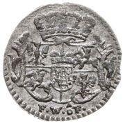 Halerz - August III Sas (Drezno mint) – obverse
