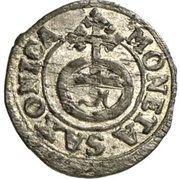 Halerz - August II Mocny (Drezno mint) – reverse