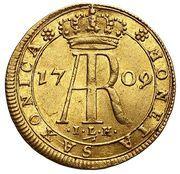 Dukat - August II Mocny (Drezno mint) -  obverse